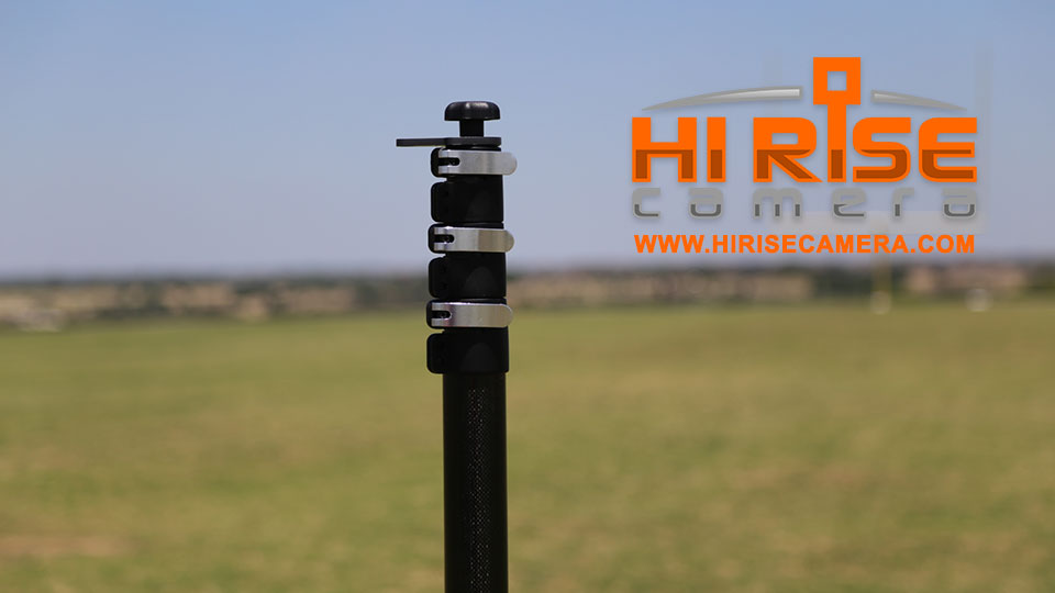 Endzone Camera Telescopic Pole Clamp